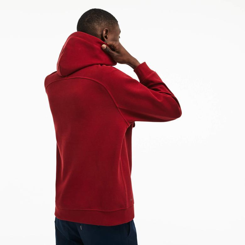 Lacoste Erkek Bordo Sweatshirt