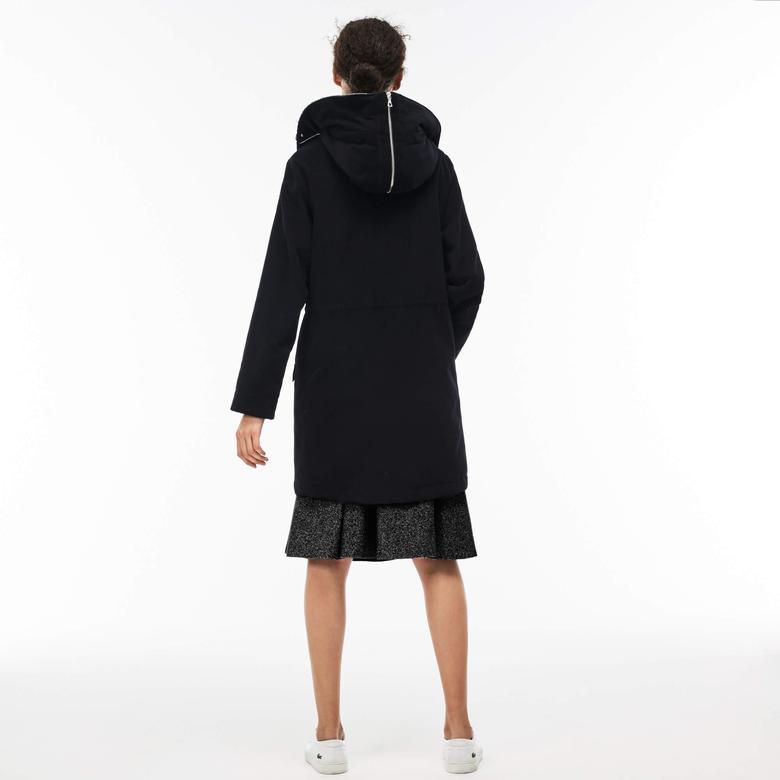 Lacoste Kadın Siyah Mont