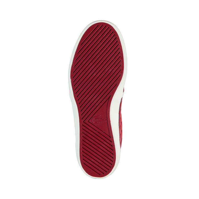 Lacoste Gazon 116 4 Kadın Kırmızı Slip On