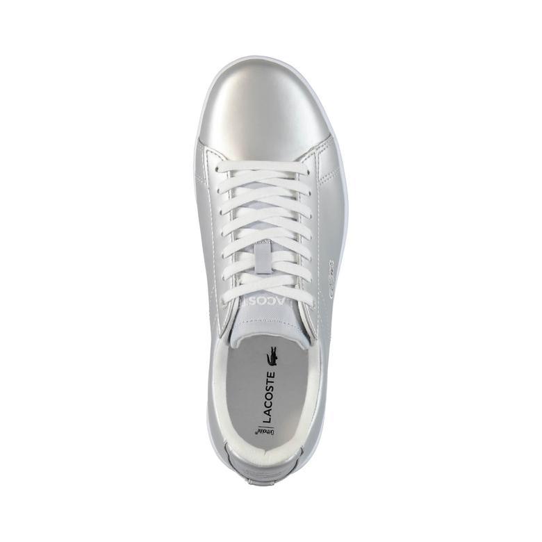 Lacoste Carnaby Evo Kadın Gümüş Sneaker