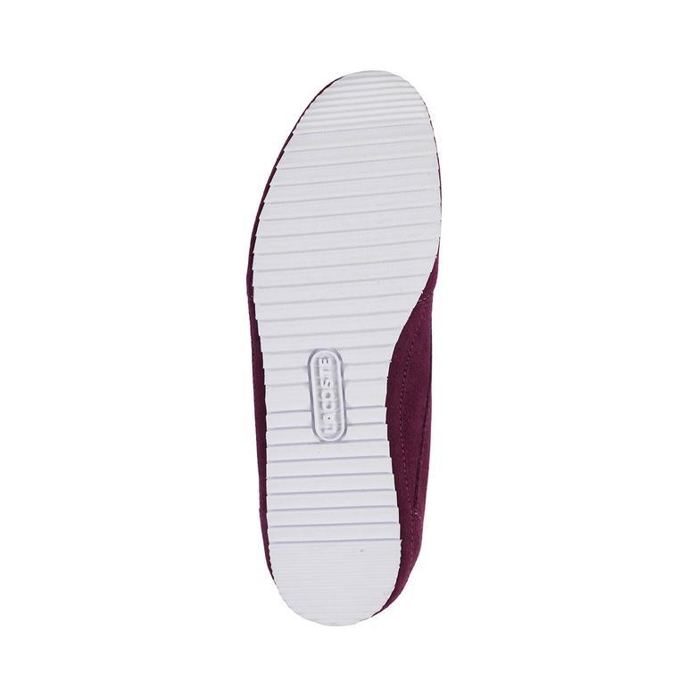 Lacoste Vallareta Kadın Mor Sneaker
