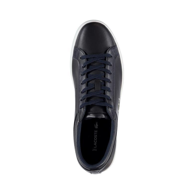 Lacoste Straightset Erkek Lacivert Sneaker