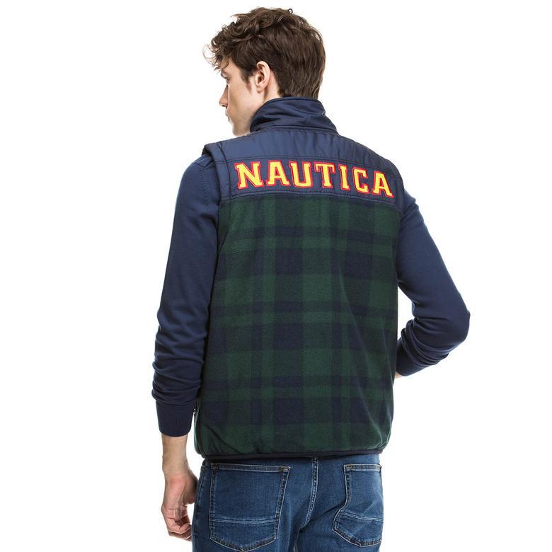 Nautica Erkek Mavi Yelek