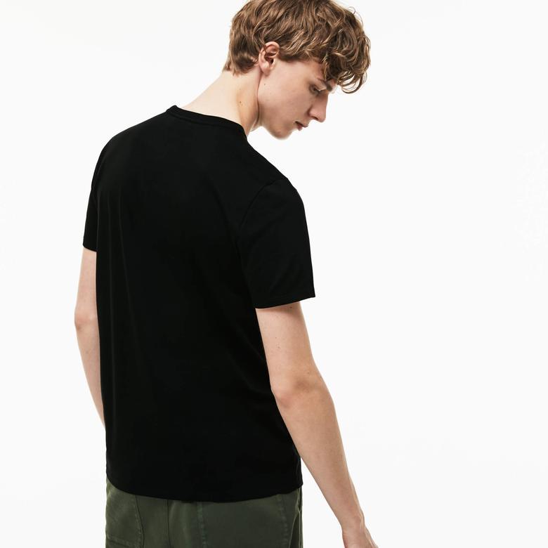Lacoste Siyah Erkek Tshirt