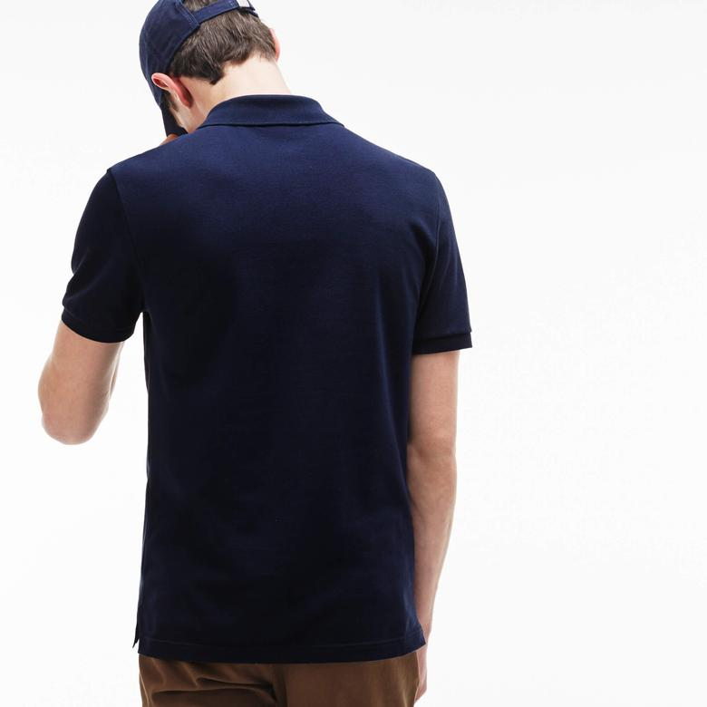 Lacoste Erkek Slim Fit Lacivert Polo