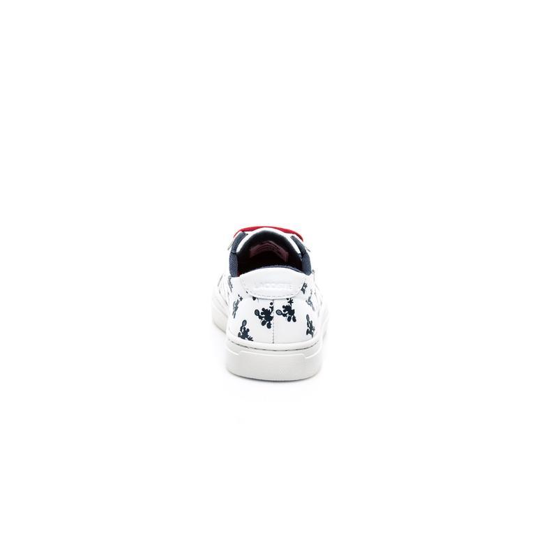 Lacoste x Disney Çocuk Beyaz Sneaker