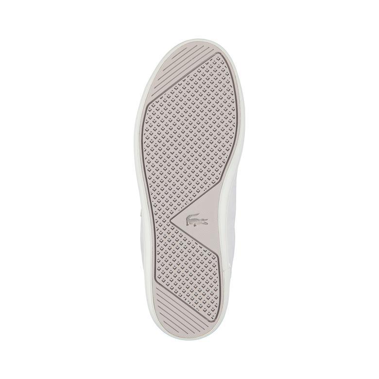 Lacoste Straightset C 318 1 Kadın Gri Sneaker