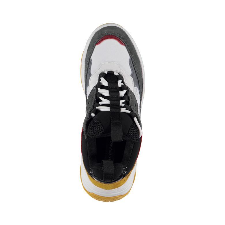 Calvin Klein Kadın Gri-Beyaz Spor Ayakkabı