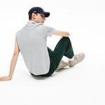 Lacoste Croco Magic Erkek Regular Fit Gri Kısa Kollu Polo