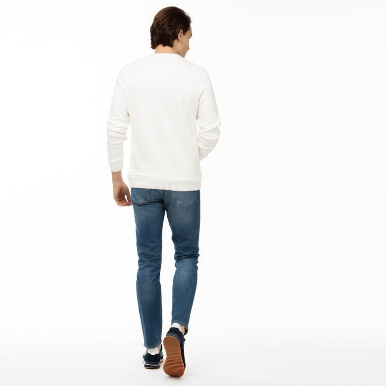 Lacoste Erkek Slim Fit Lacivert Jean
