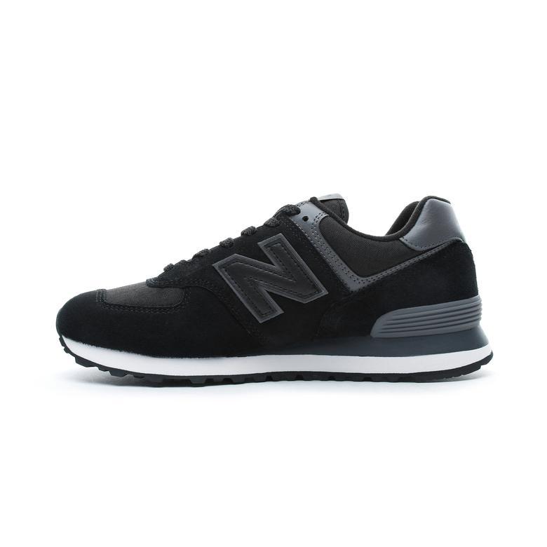 New Balance 574 Erkek Siyah Spor Ayakkabı