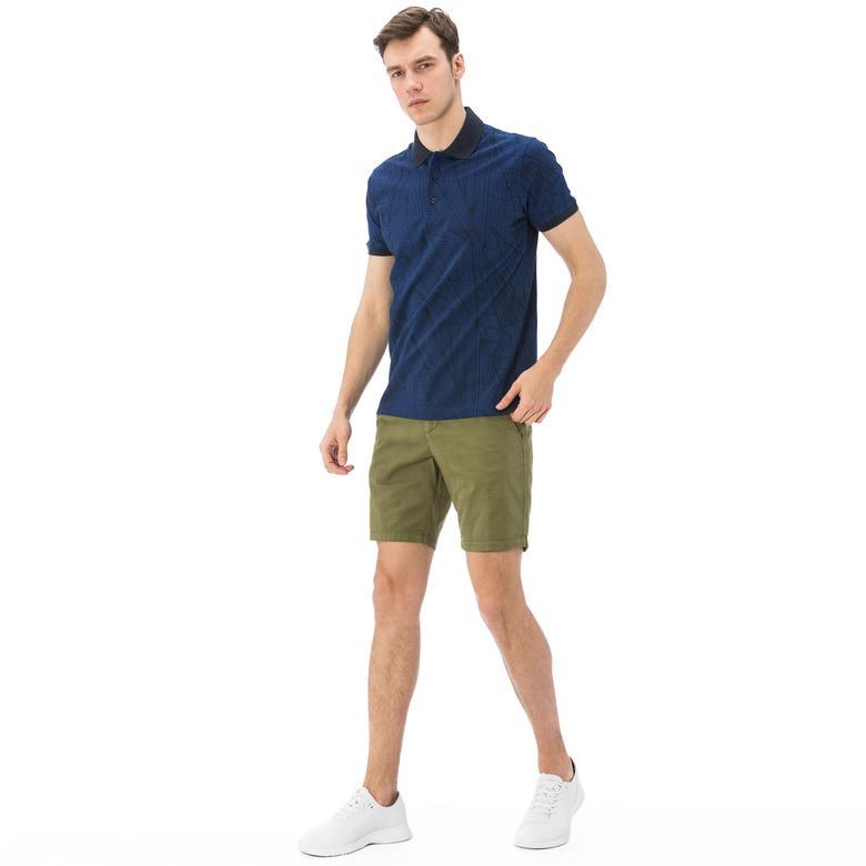 Nautica Erkek Yeşil Slim Fit Bermuda