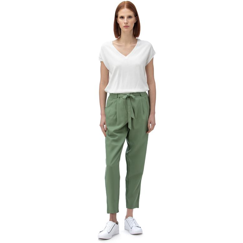Nautica Kadın Yeşil Havuç Pantolon