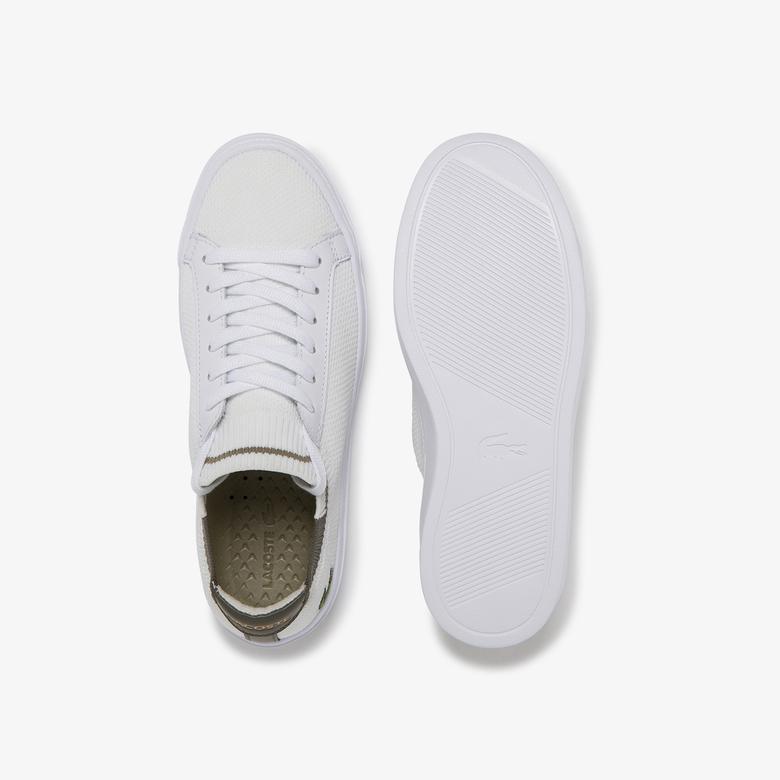 Lacoste Kadın Beyaz Haki Sneaker