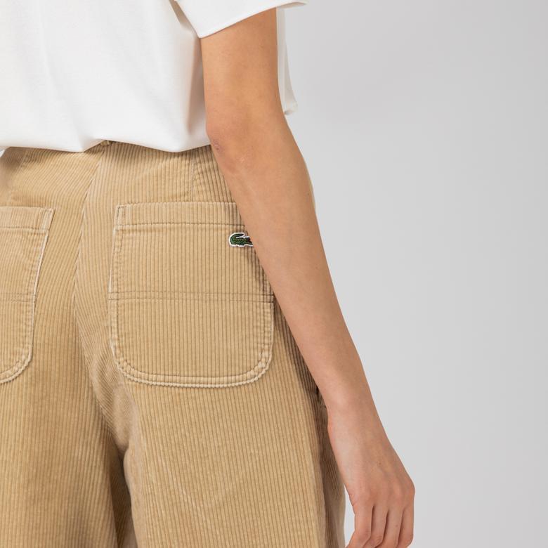 Lacoste L!VE Kadın Bej Pantolon