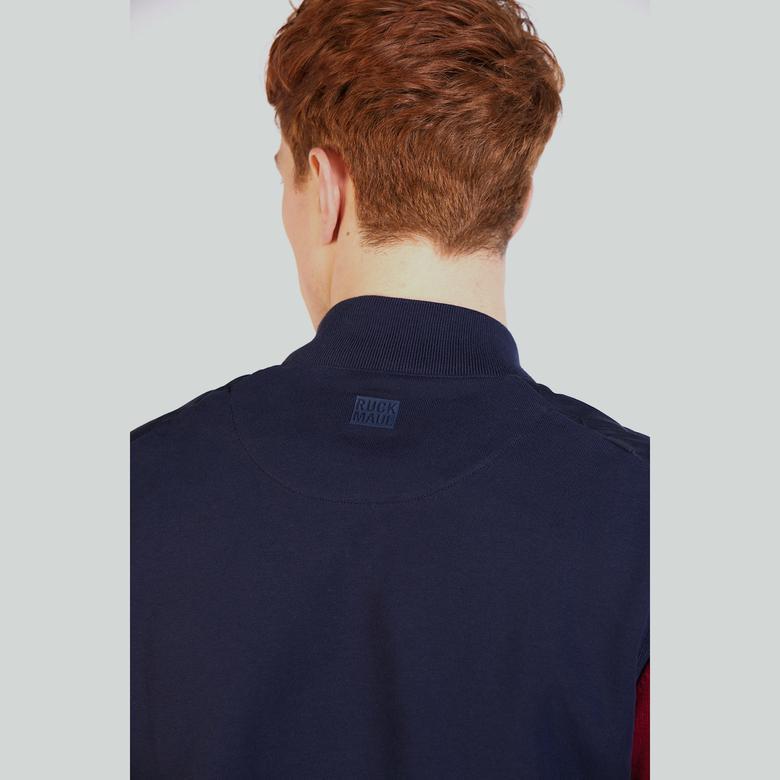 Ruck&Maul Erkek Mavi Triko