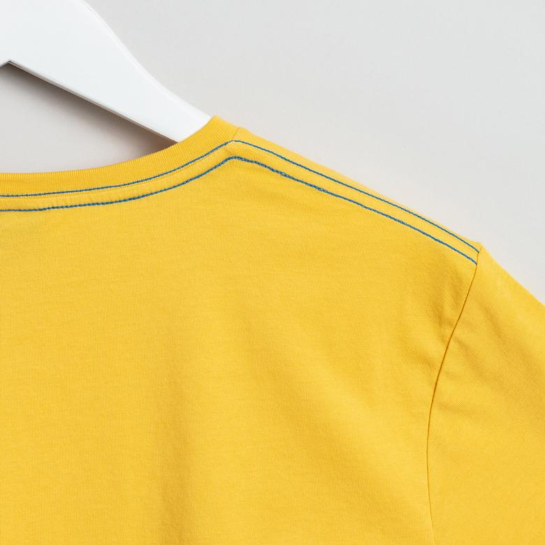 GANT Erkek Sarı Regular Fit Tshirt