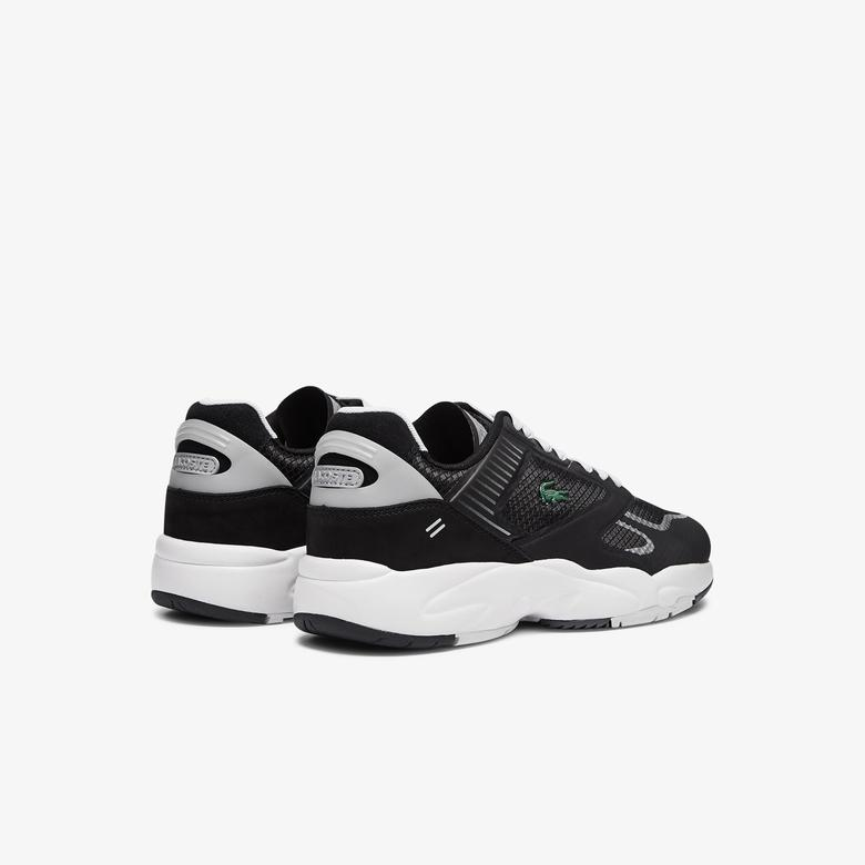Lacoste Storm 96 Nano07211 Sma Erkek Siyah - Gri Sneaker