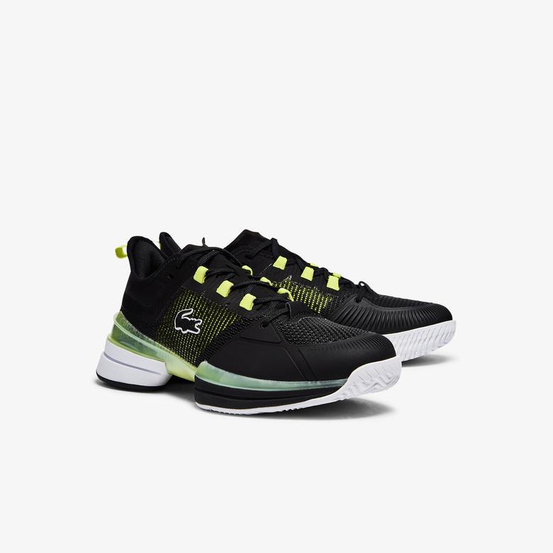 Lacoste Ag-Lt21 Ultra 0921 1 Sma Erkek Beyaz - Sarı Spor Ayakkabı